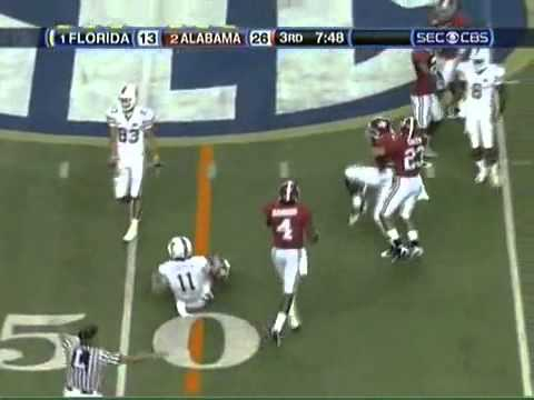 2009 SEC Championship Alabama vs. Florida