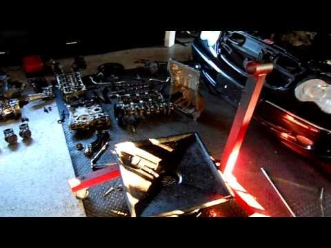 Mercedes C230 Kompressor Engine Removal
