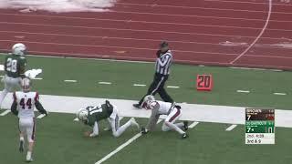 Highlights: Football vs. Brown, Nov. 17, 2018