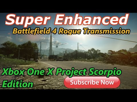 Battlefield 4 Rogue Transmission Super Enhanced Game play Xbox one x