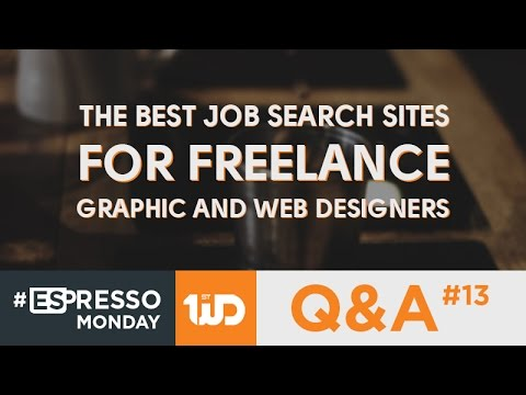 The Best Job Search Sites For Freelance Graphic And Web Designers