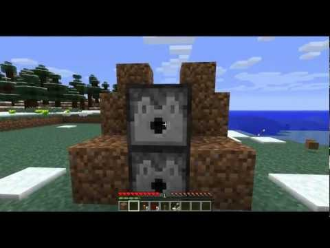 Minecraft DIY - How To Make An Automatic Turret In Minecraft