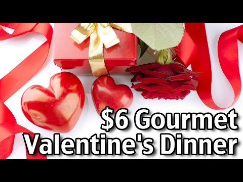 $6 Gourmet Valentine's Day Dinner for Two!