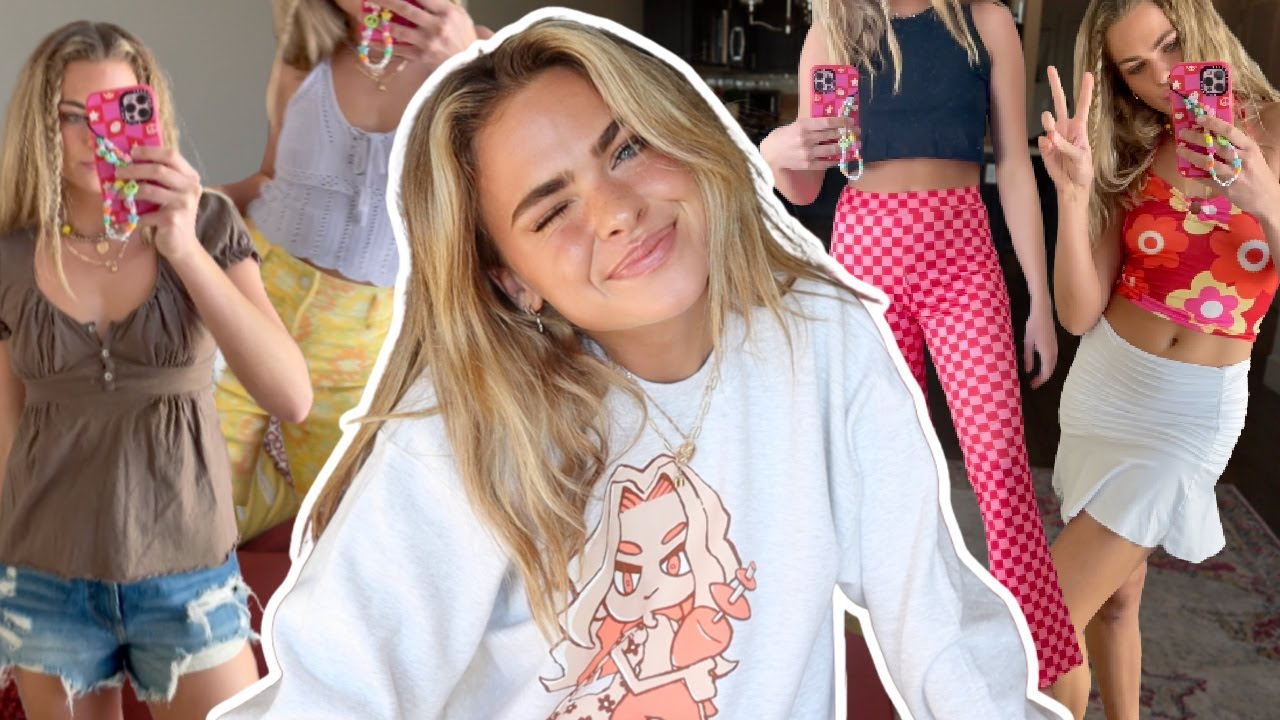 HUGE summer try on clothing haul! (affordable & trendy!)