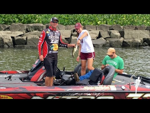 Fishing Vs. Kevin VanDam?! Ike's First Ever Pro-Am Bass Fishing Tournament