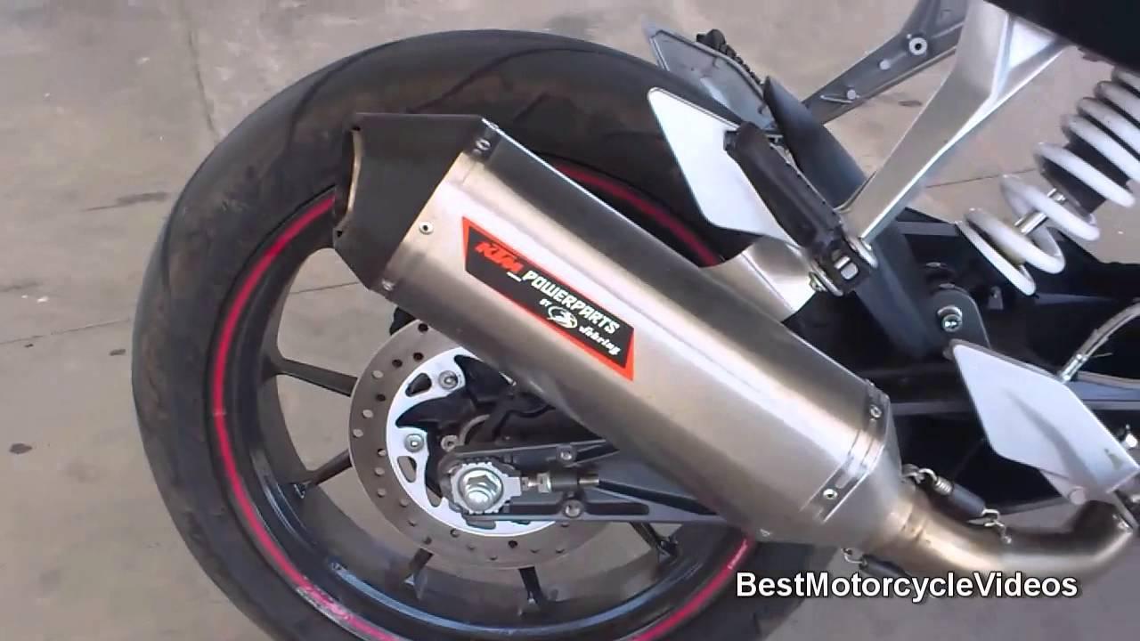 KTM Duke 200 Performance Exhaust Sound - Engine Sound