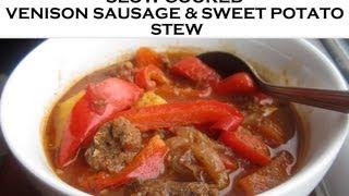 Slow Cooker Recipe: Venison Sausage & Sweet Potato Stew