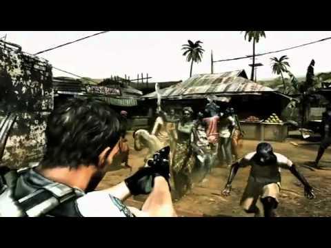 Video juegos: Resident Evil 5 segundo trailer (360,PS2,PC)