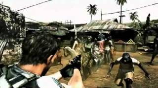 Video juegos: Resident Evil 5 segundo trailer (360,PS2,PC)