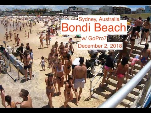 Bondi Beach Walking With A GoPro7 | Sydney, Australia
