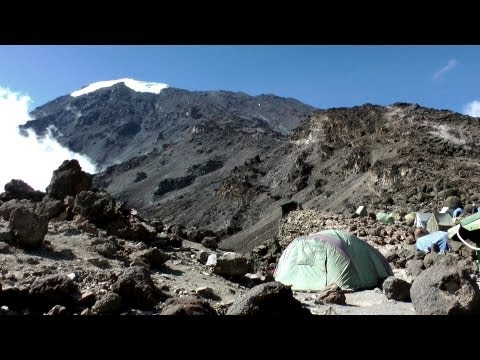 Climbing Mt Kilimanjaro via Machame Route in HD
