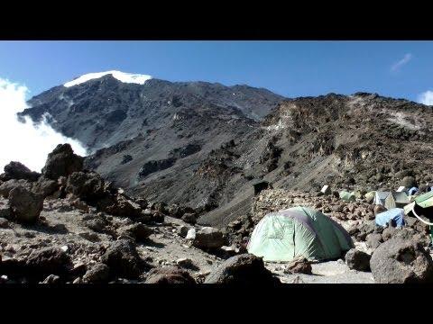 Climbing Mt Kilimanjaro Via Machame Route In HD