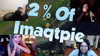 League of Legends Funny Stream Moments #31 - 2% OF IMAQTPIE!