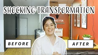 SHOCKING Storefront Transformation   Rustic Makeover