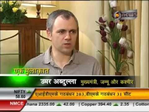 Manoj Tibrewal Aakash Interviewed Omar Abdullah for DD News's Ek Mulaqat (Full Interview)