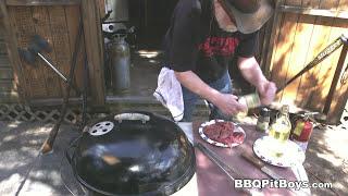 Tenderloin Steak Bacon Burger Recipe By The Bbq Pit Boys