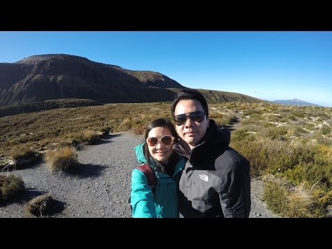 Tongariro Alpine Crossing, Trekking New Zealand