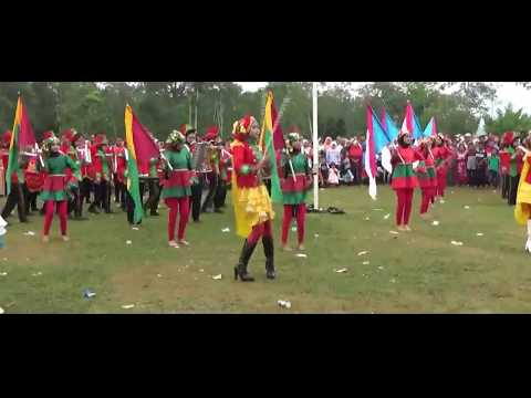 Berondong Tua - Drumband SMPN 12 Sijunjung Atraksi HUTRI KE-72 Kecamatan Lubuk Tarok