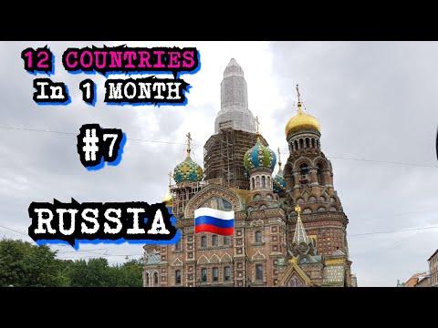 Saint Petersburg, RUSSIA travel vlog! August 2018