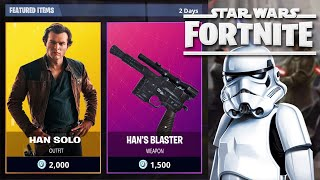 Star Wars: Fortnite Battle Royale - Solo: A Star Wars Story skin ??! | JacTesson