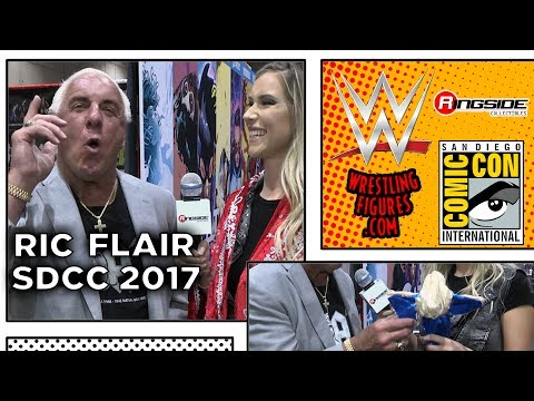 RIC FLAIR - Ringside Collectibles Interview at SDCC 2017!