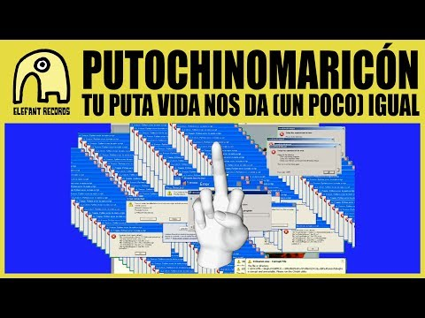 PUTOCHINOMARICÓN feat. REDARD - Tu Puta Vida Nos Da (Un Poco) Igual [Official]