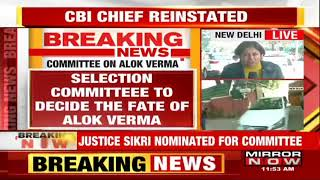 CJI Gogoi nominates Justice A K Sikri to be part of the CBI selection panel
