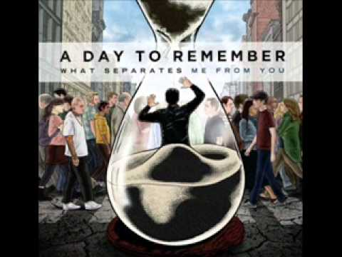 A Day To Remember - All I want Lyrics.