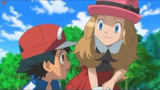 amv ash and serena thousand foot krutch be somebody