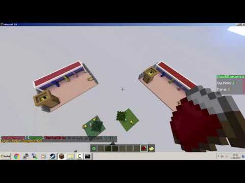 Minecraft TURKCE 5 modlu hub plugin paketi BungeeCord