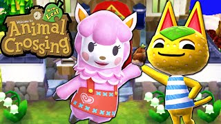Animal Crossing: New Leaf - Fall Flora Misfortune Gameplay Walkthrough Ep.87 Nintendo 3DS