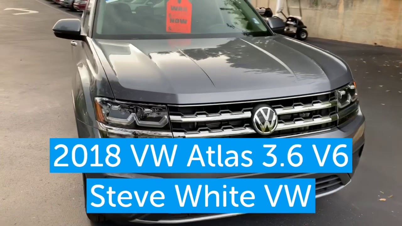 Steve White Vw >> 2018 Vw Atlas Certified Pre Owned Steve White Vw Greenville Sc
