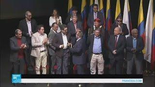 توقيع اتفاق سلام جديد بين الحكومة الكولومبية والقوات المسلحة الثورية