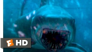 Обложка Deep Blue Sea 1999 Blowing Up The Shark Scene 10 10 Movieclips