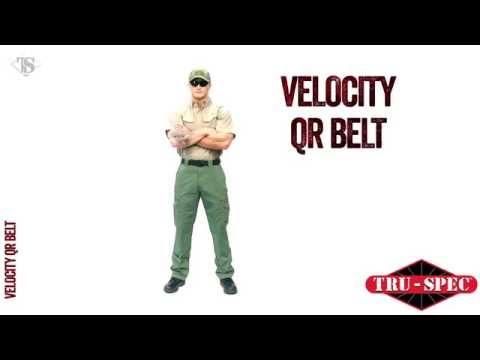 TRU-SPEC Velocity QR Belt Black