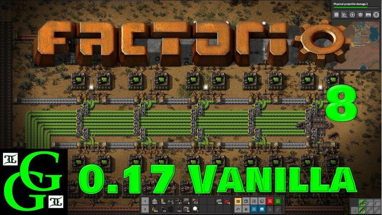 Factorio - 0 17 Vanilla - Green Circuits - Part 8