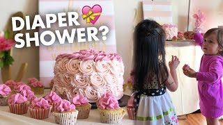 DIAPER PARTY/BABY SHOWER? (VLOG)