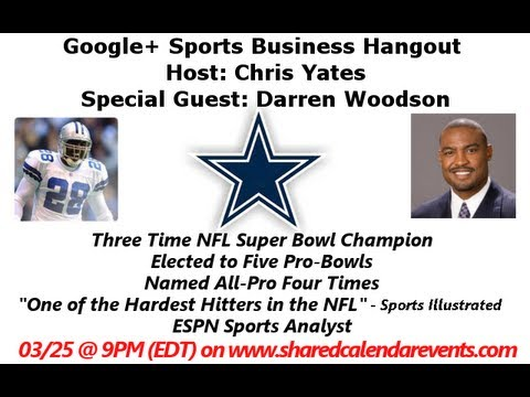 Former Dallas Cowboys Darren Woodson and Bill Bates