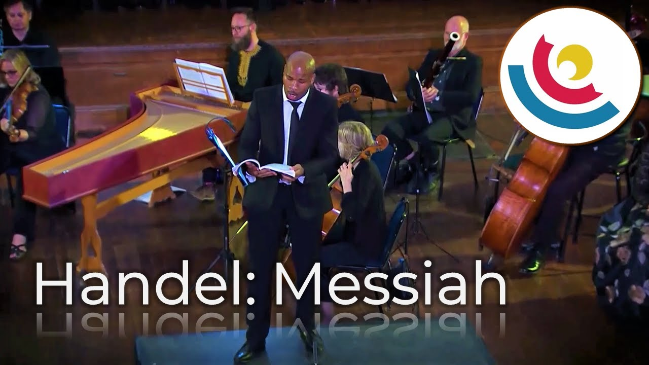 Download Darkness Shall Cover The Earth / People That Walked In Darkness   Bongani Kubheka - Handel's Messiah