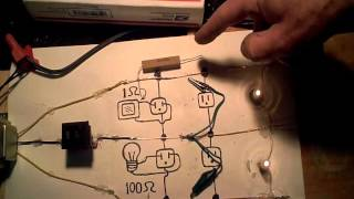 Power surge due to an open neutral wire.