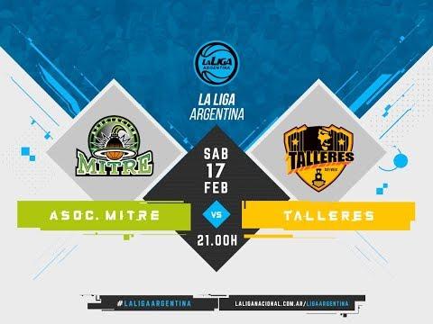 #LaLigaArgentina | 17.02.2018 Asociación Mitre vs. Talleres Tafí Viejo
