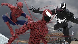 Spider-Man and Venom vs. Carnage - Spider-Man vs. Venom 4 - Maximum Carnage - Spider-Man Ultimate 7