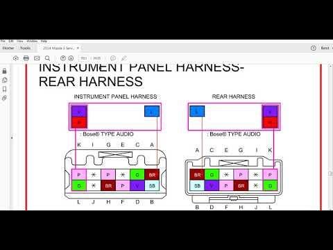 2014 mazda 3 wiring youtube rh youtube com 2014 mazda 3 trailer wiring harness