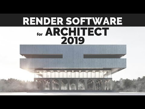 Render software for Architect 2019 thumbnail