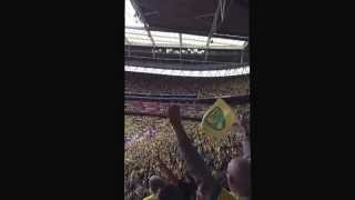 On the ball city Wembley 2015 loudest rendition ever!