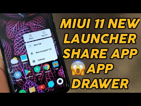 HOW TO download MIUI 11 launcher MIUI 11 launcher download