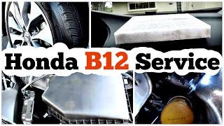 DIY Honda maintenance Minder Code: B12 Service Procedure(Welcome to another episode of DiyCarModz. I'm Jeff and in this video I will be showing you the procedure on how to perform the
