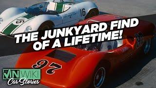 I found 2 priceless race cars in a junkyard