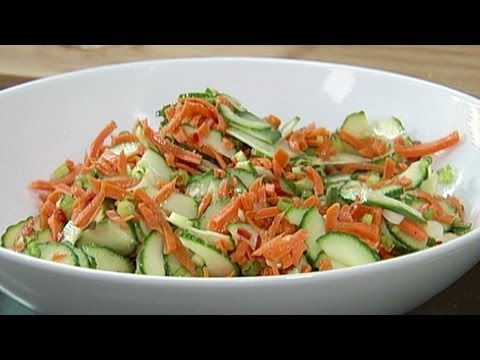Breville Amp Simply Ming Present An Asian Cucumber Salad