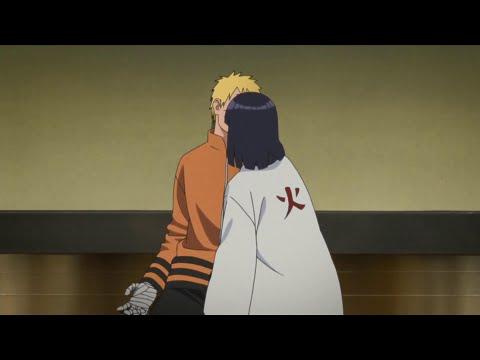 Hinata Accidentally Kissed Naruto When She Went To Accept The Hokage For Naruto Got Stuck Byakugan!